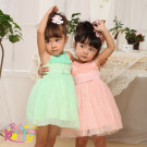 2014 Child Clothes for Flower Girls Chevron Dress