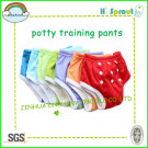 2014 Hot Sale Reusable Beautiful Patterns Potty Training Pants