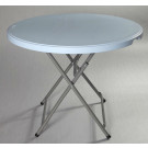 2014 Light Weigt Small Round Plastic Cheap Dining Table (SY-60Y)