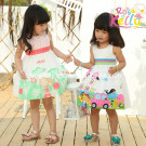 2014 New Summer Style Baby Clothes (9301 9027)