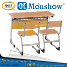 2015 Double School Desk and Chair, Moulded Board Desk and Chair
