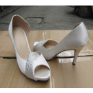 2015 Fashion High Heel Ladies Peep Toe Sandals (HCY02-1457)