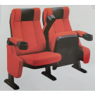 2015 Hot Sale Elegant Cinema Chair with Cup Holder Auditorium Chair Home Cinema Chair (XC-1003)