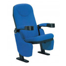 3D 4D 5D 6D Cinema Theater Movie Motion Chair Seat Theater Furniture Theater Chair Auditorium Chair with Cup Holder (XC-1009)