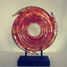 Abstract Resin Sculpture for Home Table Decoration