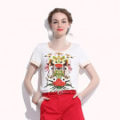 Fashion Beautiful Women Clothes, T-Shirt (W011)
