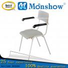 Wood Metal Frame Cheapest Arm Chair