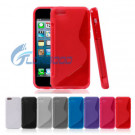 (IP5C-001) S Shape Silicone Soft TPU Case for Apple iPhone 5c