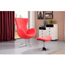 (SX-018#) Home Furniture PU Leather Leisure Swan Chair