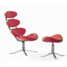 (SX-025) Home Furniture Leisure PU Leather Corona Chair
