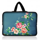"11.6"" 12"" Rose Neoprene Laptop PC Sleeve Case Bag Pouch Cover+ Hide Handle"