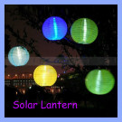 13000mcd 4 Colors Festival LED Solar Lantern Light Lamp for Garden Home