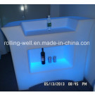 2014 Illuminated LED Bar Counter/LED Bar Furniture/LED Plastic Bar Counter