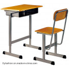 2014 New Arrival High Quality Single Student Desk and Chair (SF-03S)