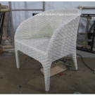 2014 Stylish Design UV-Resistant PE Rattan Chair