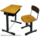 2014 Wholesale School Furniture Single Student Desk and Chair (SF-06S)