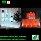 2015 Fashion LED Bar Furniture Plastic Rechargeabled LED Full Light Counter