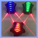2015 Trade Assurance Supplier Shenzhen Bike Taillight Super Light Laser LED Laser Tail Light