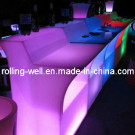 Amazing! Nightclub Rechargeable LED Bar Counter (CE/SGS) with Colorful Lighting