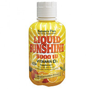 Liquid Sunshine Vitamin D3 5000 IU - Tropical Citrus Flavour