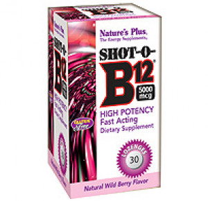 Shot-O-B12 5000 mcg Lozenges
