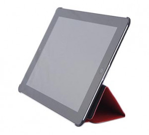 iSlim Leather iPad 3/4 Case. Red