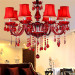 8 Lights Candle Chandelier Cheap Red Crystal Chandeliers