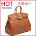 Crocodile Pattern Cow Leather Handbags OEM Designer Lady Handbag (N914)