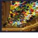 Hand Blown Glass Platter Ceiling Lighting Art Chandelier Crafts