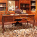 Italy Classical Style Red Solid Wood Book Desk (OST61416)
