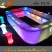 Lighted Bar Furniture & Bar Counter & Plastic Table