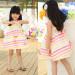 Wholesale Children's Boutique Clothing, Color Stripes Cotton Baby Clothes