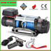 12500lbs Powerful Winch with Synthetic Rope for Jeep