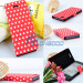 Flip Stand Polka DOT PU Leather Folio Book Case Cover for New I Phone 5 5g