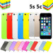 New Ultra Slim Soft Matte Transparent Case Cover for Apple iPhone 5s 5c