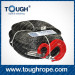 Tr-08 Ship Winch Dyneema Synthetic 4X4 Winch Rope with Hook Thimble Sleeve Packed as Full Set