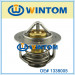 Water Neck Thermostat Housing with OEM 1338005 for Opel