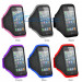 Wholesale Color Rubber Band Arm Jogging Armband for Cell Phone