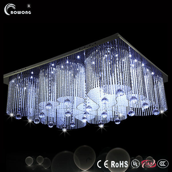 Remote Control RGB Crystal Ceiling Lamp (BH-ML063)