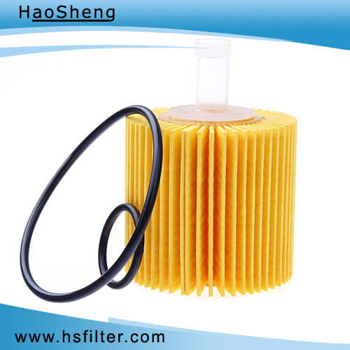High Efficiency Auto Oil Filter for Toyota (04152-31090)